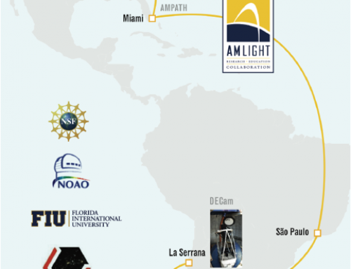 AmLight Enables Dark Energy Camera Data Flow from Chile to U.S.